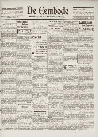 De Eembode 1934-05-04