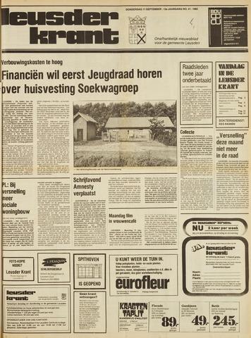 Leusder Krant 1980-09-11