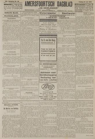 Amersfoortsch Dagblad / De Eemlander 1926-07-30
