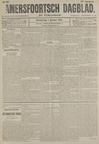 Amersfoortsch Dagblad / De Eemlander 1915-01-07