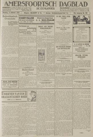 Amersfoortsch Dagblad / De Eemlander 1931-02-09