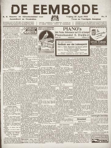 De Eembode 1928-04-27