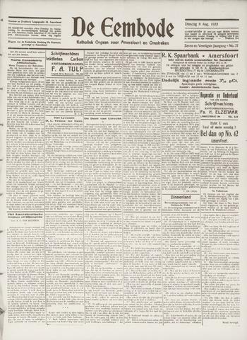 De Eembode 1933-08-08