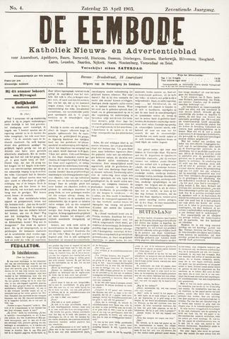 De Eembode 1903-04-25