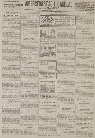 Amersfoortsch Dagblad / De Eemlander 1925-11-12