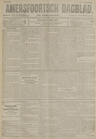 Amersfoortsch Dagblad / De Eemlander 1917-04-03