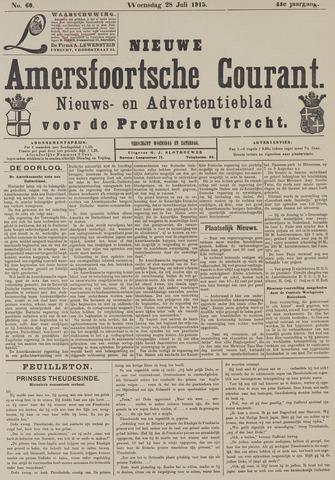 Nieuwe Amersfoortsche Courant 1915-07-28