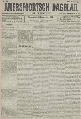 Amersfoortsch Dagblad / De Eemlander 1914-09-23