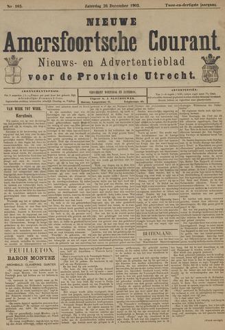 Nieuwe Amersfoortsche Courant 1903-12-26