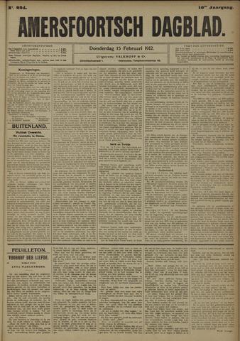 Amersfoortsch Dagblad 1912-02-15