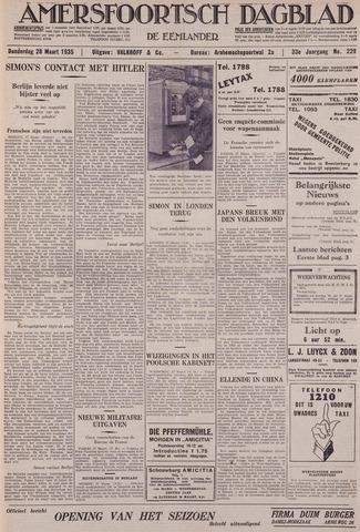 Amersfoortsch Dagblad / De Eemlander 1935-03-28