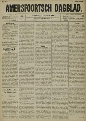 Amersfoortsch Dagblad 1909-01-27