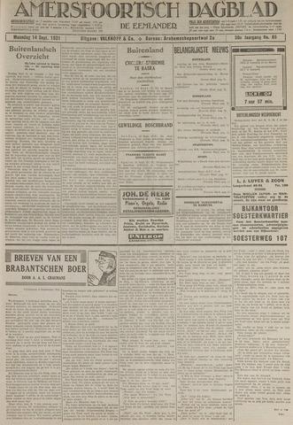 Amersfoortsch Dagblad / De Eemlander 1931-09-14