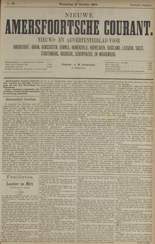Nieuwe Amersfoortsche Courant 1884-10-29