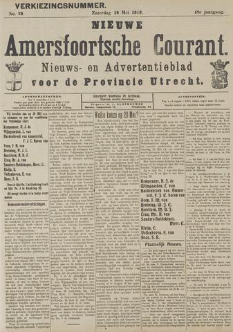 Nieuwe Amersfoortsche Courant 1919-05-10