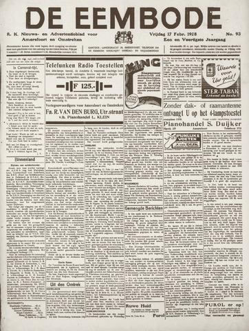 De Eembode 1928-02-17