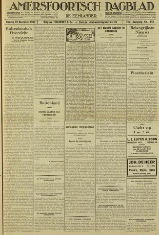 Amersfoortsch Dagblad / De Eemlander 1932-12-20
