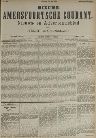 Nieuwe Amersfoortsche Courant 1885-05-30