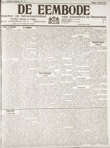De Eembode 1913-03-07