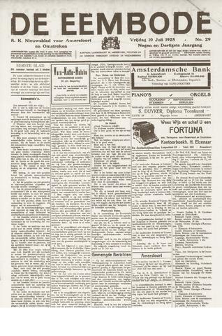 De Eembode 1925-07-10