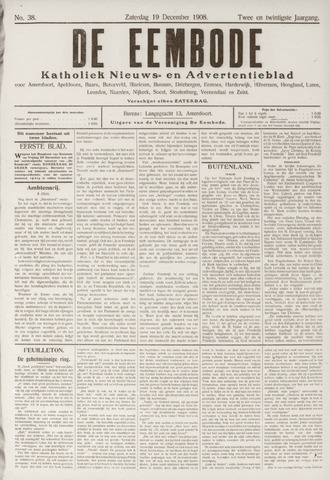 De Eembode 1908-12-19