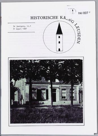 Historische Kring Leusden 1987