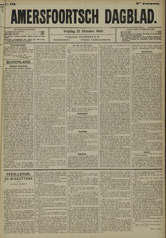 Amersfoortsch Dagblad 1909-10-22