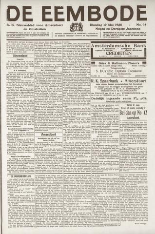 De Eembode 1925-05-19