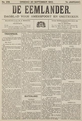 De Eemlander 1910-09-20
