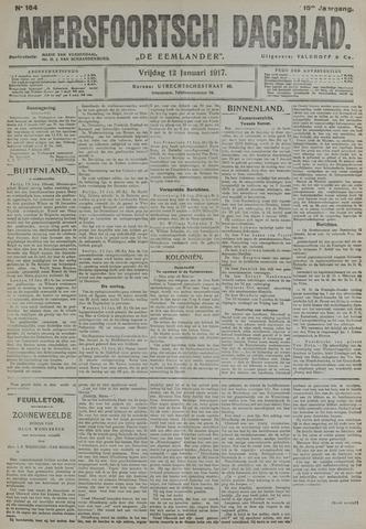 Amersfoortsch Dagblad / De Eemlander 1917-01-12