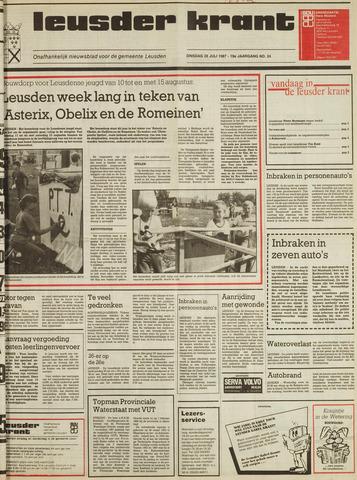 Leusder Krant 1987-07-28