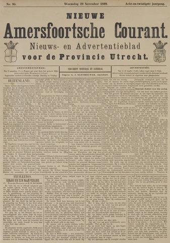 Nieuwe Amersfoortsche Courant 1899-11-29