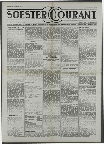 Soester Courant 1957-11-22