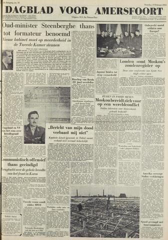 Dagblad voor Amersfoort 1951-02-19