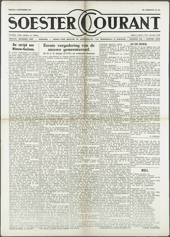 Soester Courant 1958-09-05