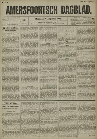 Amersfoortsch Dagblad 1908-08-10