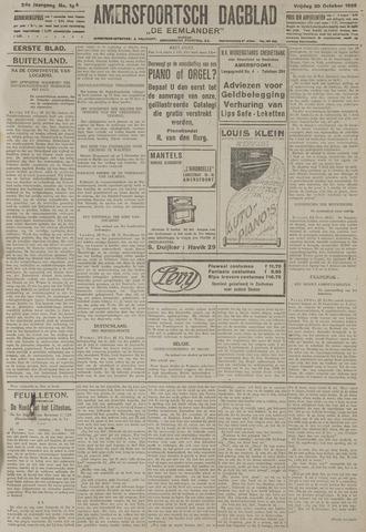 Amersfoortsch Dagblad / De Eemlander 1925-10-30