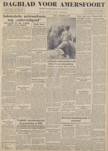 Dagblad voor Amersfoort 1947-07-07