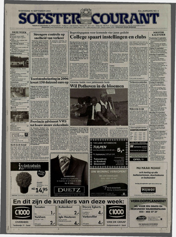 Soester Courant 2003-09-10