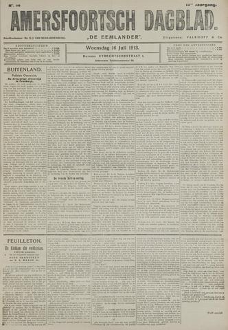 Amersfoortsch Dagblad / De Eemlander 1913-07-16