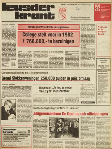 Leusder Krant 1981-12-01