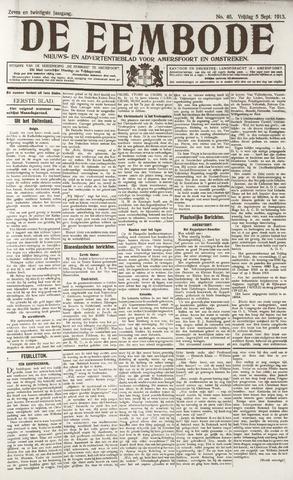 De Eembode 1913-09-05