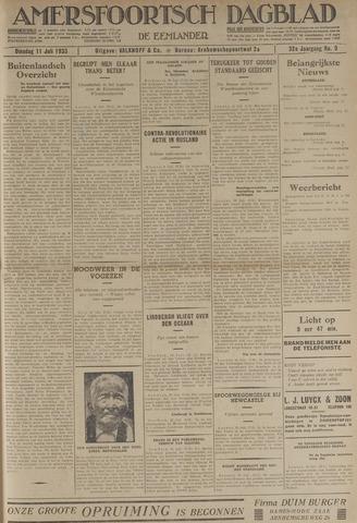 Amersfoortsch Dagblad / De Eemlander 1933-07-11