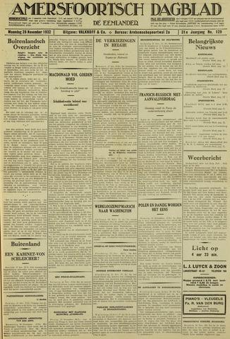 Amersfoortsch Dagblad / De Eemlander 1932-11-28