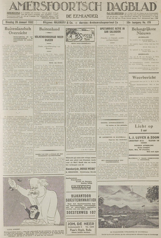 Amersfoortsch Dagblad / De Eemlander 1932-01-26
