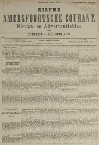 Nieuwe Amersfoortsche Courant 1893-10-28