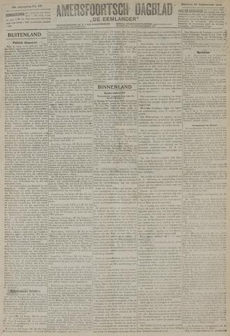 Amersfoortsch Dagblad / De Eemlander 1919-09-16