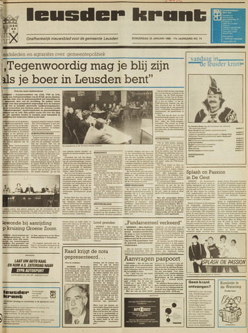 Leusder Krant 1986-01-30