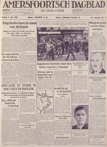 Amersfoortsch Dagblad / De Eemlander 1940-07-02