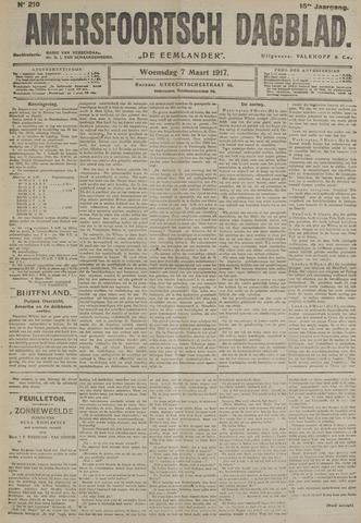 Amersfoortsch Dagblad / De Eemlander 1917-03-07